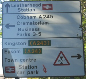 Leatherhead Railway Station Car Park